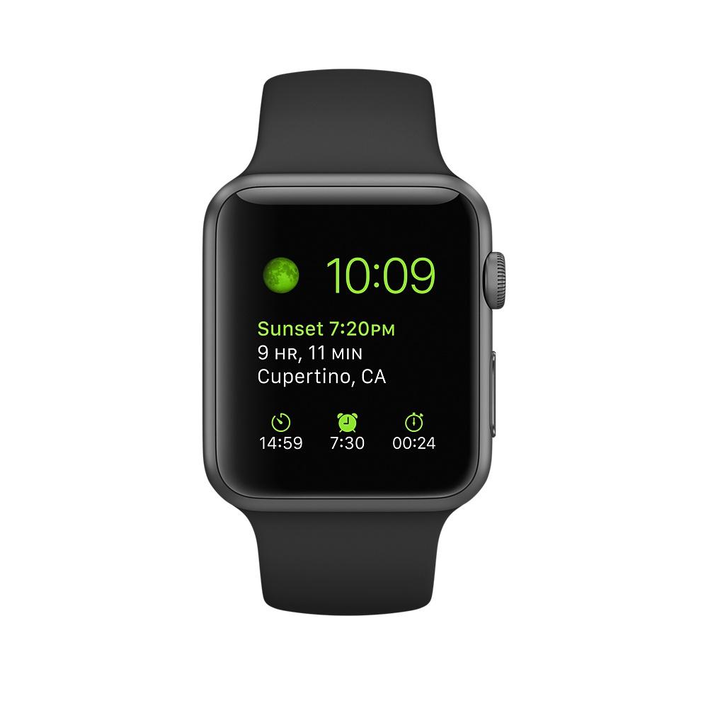 4b851da9f مميزات وعيوب ومواصفات ساعة Apple Watch Series 1 Sport 42mm | ياقوطة ...