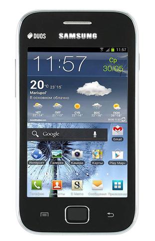 مميزات وعيوب ومواصفات جوال Samsung Galaxy Ace Duos S6802 | ياقوطة