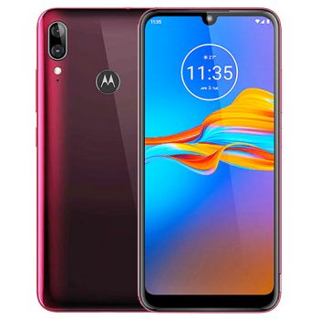 Motorola-Moto-E6-Plus-Red