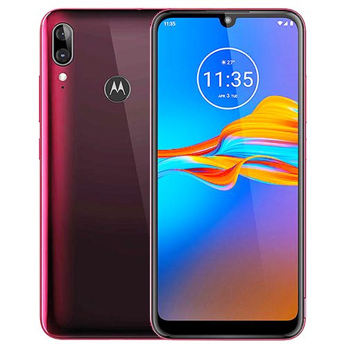 Motorola-Moto-E6-Plus-Red