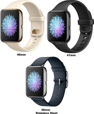 oppo-watch-models-colors